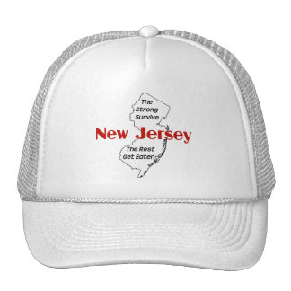 New Jersey the strong survive Trucker Hat