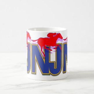 New Jersey thoroughbred zip mug