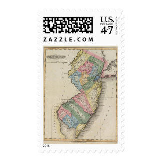 New Jersey Timbres Postales