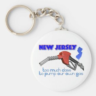 New Jersey: Too Much Class to Pump Our Own Gas Keychain