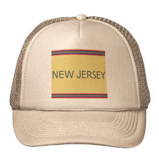 New Jersey Trucker Hat - Cap