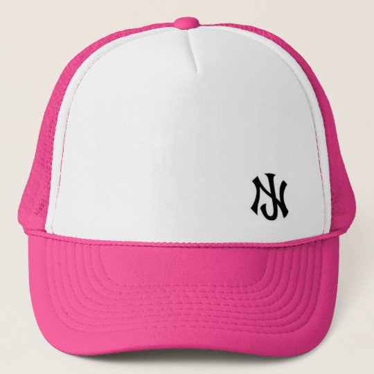 New Jersey trucker Pink Trucker Hat