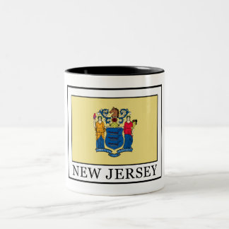 New Jersey Two-Tone Coffee Mug