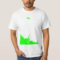 New Jersey UFO Picture T Shirt