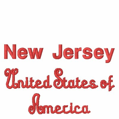 New Jersey United States of America Polo Shirt