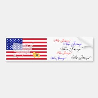 New Jersey, USA Bumper Sticker