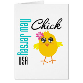 New Jersey USA Chick Cards