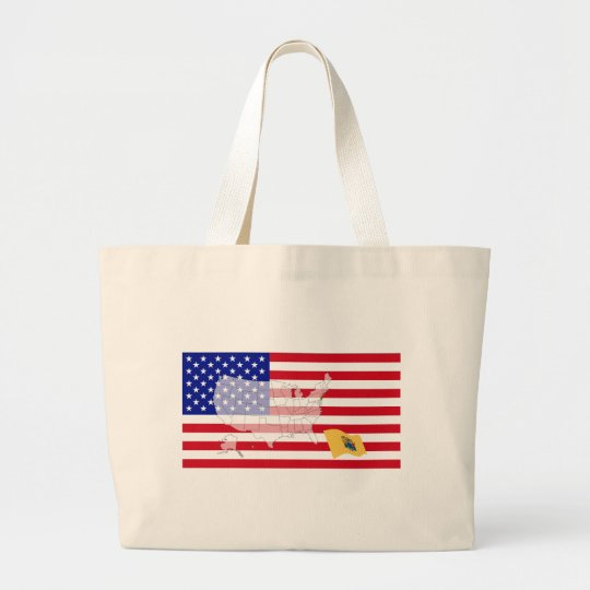 New Jersey, USA Large Tote Bag