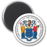 New Jersey, USA Magnets