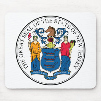 New Jersey, USA Mouse Pad