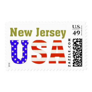 New Jersey USA! Stamps