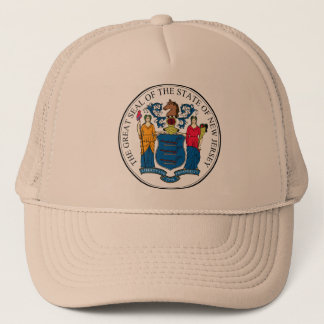 New Jersey, USA Trucker Hat