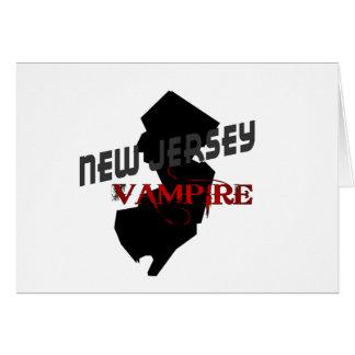 NEW JERSEY vampire Card