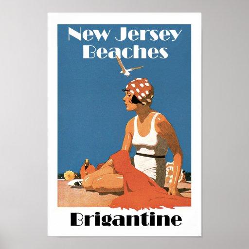 New Jersey vara el bergantín del ~ Póster