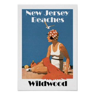 New Jersey vara el ~ Wildwood Posters