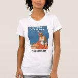 New Jersey vara la ciudad del océano del ~ Camisetas