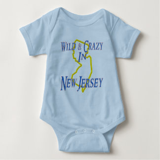 New Jersey - Wild and Crazy Baby Bodysuit
