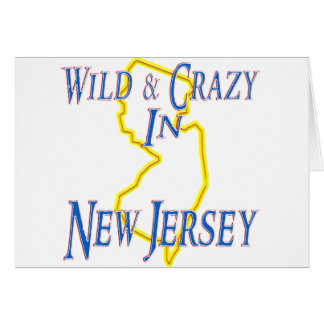 New Jersey - Wild and Crazy Card