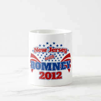 New Jersey with Romney 2012 Coffee Mug