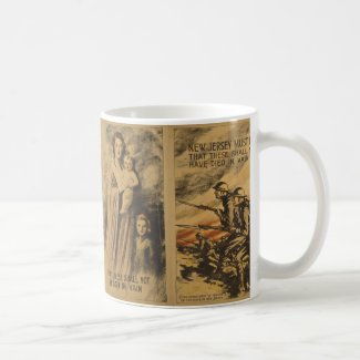 New Jersey World War I Mug