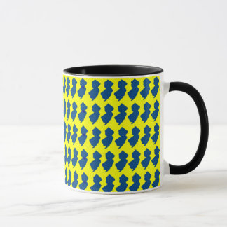New Jersey Yellow and Blue Mug