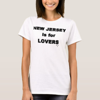 New Jersey's for Lovers T-Shirt