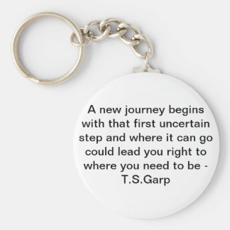 New Journey Keychain
