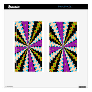 New Kaleidoscope Kindle Fire Skin