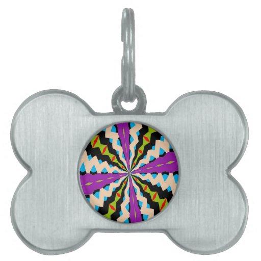 New Kaleidoscope Pet Tags