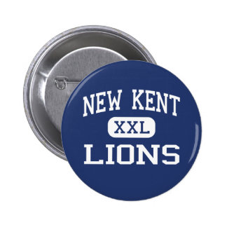 New Kent Lions Middle New Kent Virginia Pinback Buttons