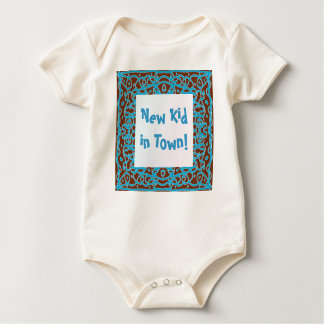 New Kid in Town! baby t-shirt
