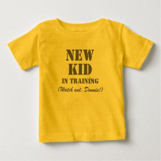 New Kid in Training Donnie - Kids T-shirt