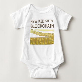 New Kid on the Block Chain Baby Bodysuit