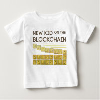 New Kid on the Block Chain Baby T-Shirt