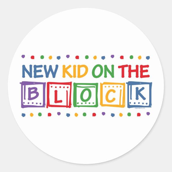 New Kid on the Block Classic Round Sticker