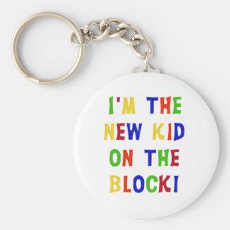 New Kid on the Block Keychain