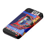New Kids Football Art iPhone 4S & 4 Case Xmas Gift iPhone 4 Case-Mate Case