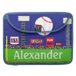 New Kids Sports Baseball Personalized Laptop Case Sleeve For MacBooks