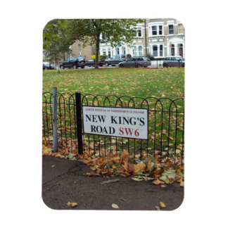 New King s Road London Magnet