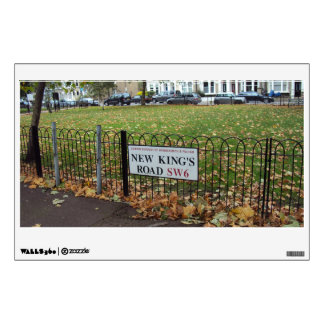 New King s Road London Wall Graphic