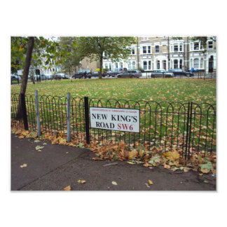 New King s Road Photographic Print