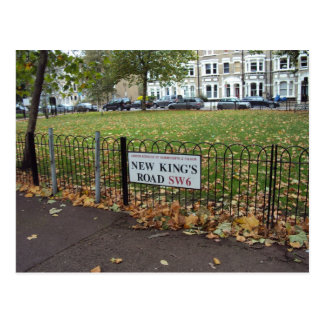 New King s Road Post Cards