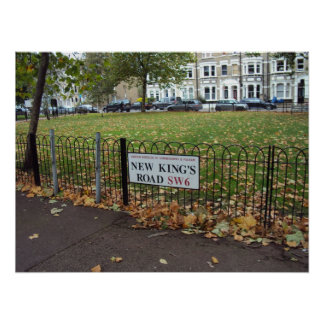 New King s Road Posters