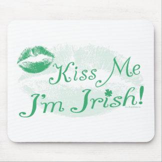 New Kiss Me I'm Irish Gear Mouse Pad