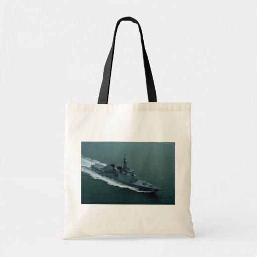 New kongo class Japanese aegis destroyer Canvas Bag