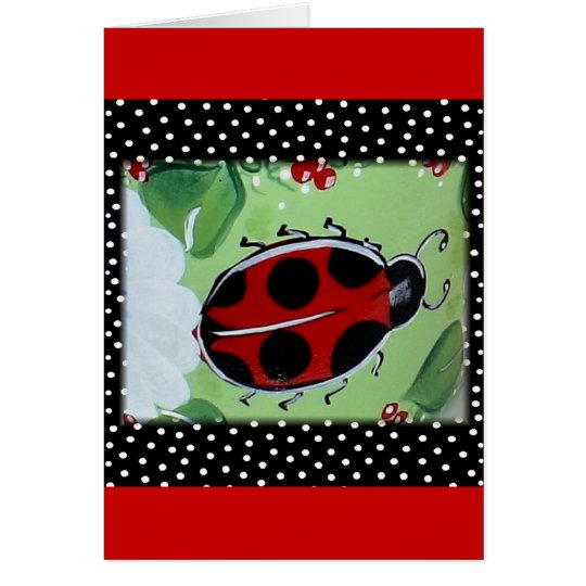 New Lady- Bugs Card