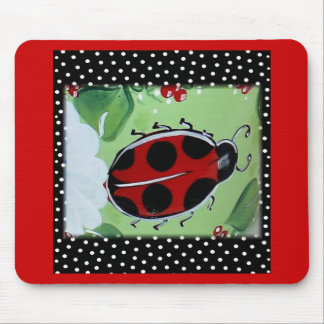 New Lady- Bugs Mouse Pad