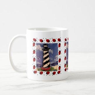 New Ladybug Lighthouse Coffee Mug