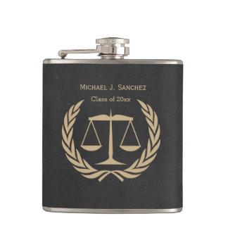 New Law School Graduate Hip Flask