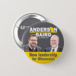 "New Leadership for WI TeamGuv — Anderson / Baird Button<br><div class=""desc"">Show your passion for freedom and support for the Team that will bring liberty to Wisconsin in 2018— Phil Anderson and Patrick Baird!</div>"